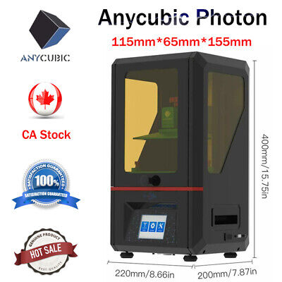 "ANYCUBIC 3D Printer SLA Photon UV Resin LCD Light Cure Full Assembled 2.8"" TFT"