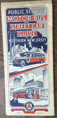 New Jersey Public Service Transit Guide