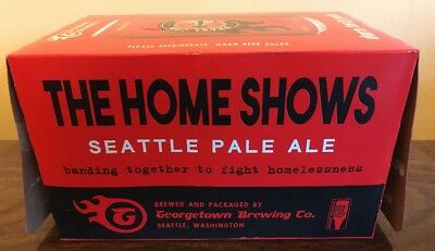 Pearl Jam Home Shows Seattle Pale Ale Collector Beer Box Only Georgetown Brewing