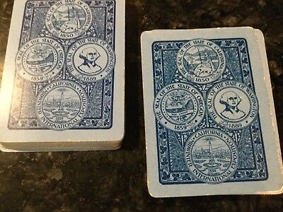 California Midwinter International Exposition  Playing Cards