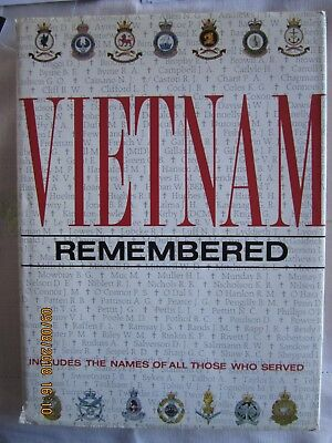 VIETNAM REMEMBERED.Includes the names of all those who served.