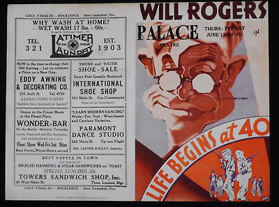 Life Begins At 40 (1935) * Will Rogers * Richard Cromwell * Sterling Holloway!!