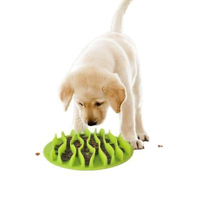 Pet Dog Puzzle Bowl Pet Dog Cat Food Dish Slow Eating Anti Choking Feeding Bowl