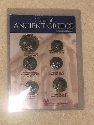 Coins of Ancient Greece Historical Replicas