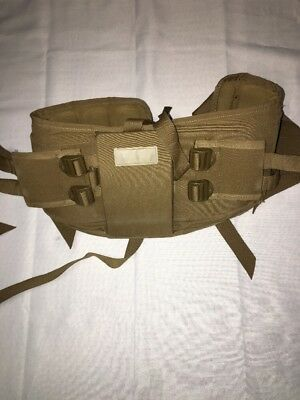 USMC FILBE Rucksack WAIST BELT ONLY *** Coyote Brown *** Acceptable Condition