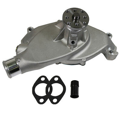Cast Aluminum Short Water Pump High Volume For BBC Chevy 396 427 454