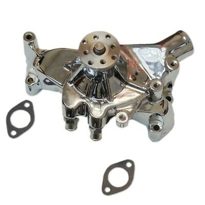 For 1969-1987 BBC Big Block Chevy Chrome Long Water Pump High Volume LWP