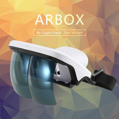 Holographic Effects Smart AR Box Augmented Reality Glasses Helmet 3D Virtual AU
