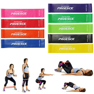 Fitness Resistance Band Rope Tube Latex Elastic Exercise For Gym Yoga Pilates