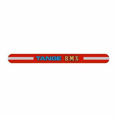 old school bmx YELLOW STRIPE Tange seat clamp decal