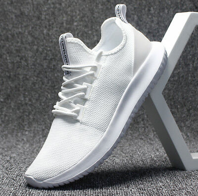 Men's Casual Gym Fitness Sneakers Breathable Mesh Trainers Running Sports Shoes
