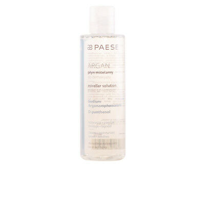 Cosmética Paese mujer MICELLAR WATER ARGAN make up remover