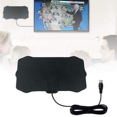 New 50Miles Antena Digital HDTV Indoor TV Antenna with Amplifier Signal Booster
