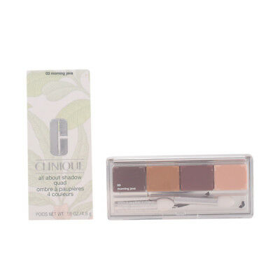 Maquillaje Clinique mujer ALL ABOUT SHADOW quad #03-morning java 4.8 gr