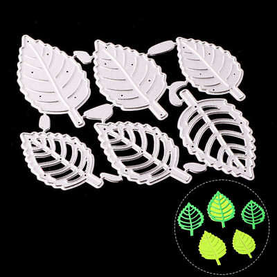 Flower Leaves Cutting Dies Stencil Scrapbooking Cards Paper Embossing Craft 1PC
