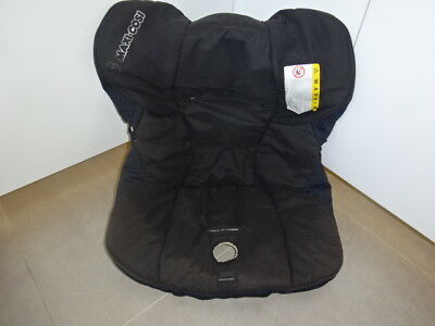 Genuine MAXI COSI Cabriofix /Cabrio COVER for Car Seat Black Square
