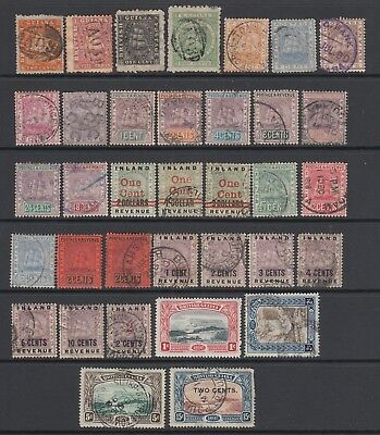 British Guiana early collection , 35 stamps