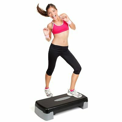 Gr8 Fitness Exercise Training Step Stand Stepper Abs Board Home Gym Aerobics Kit