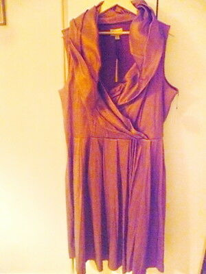 LINDY BOP Prom Dress AMBER STYLE Purple Irresdescent  size 26 BNWT