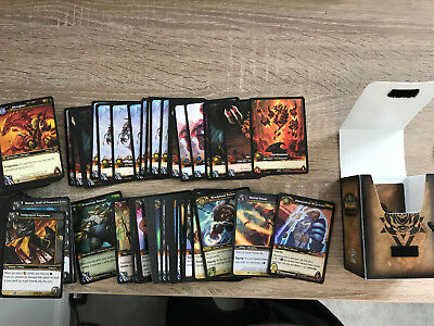World of Warcraft TCG Large set of 300 + mixed cards including foils and Epic's