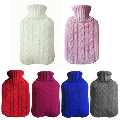 2L Large Hot Water Bag Bottle Cover Case Heat Warm Keeping Coldproof New KU