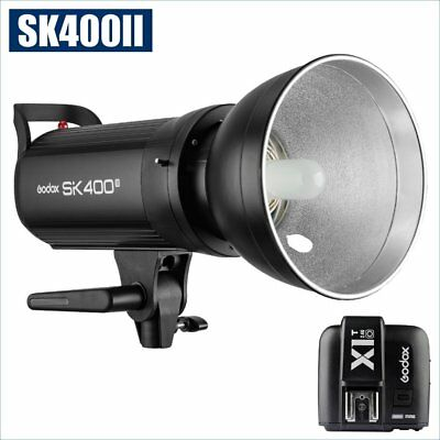 Godox SK400II 400W 2.4G Flash Strobe Light + X1T-O Transmitter for Olympus 220V