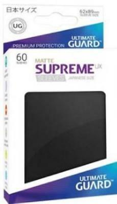 Ultimate Guard Japanese Sleeves Supreme UX - Matte Black (10 Packs of 60) MINT