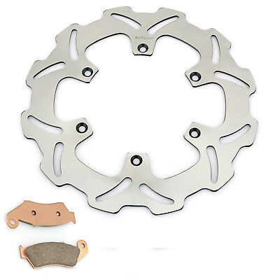 Front Brake Disc Rotor + Pads For Yamaha YZ 125 250 WR F 250 450 YZ 250 450 F