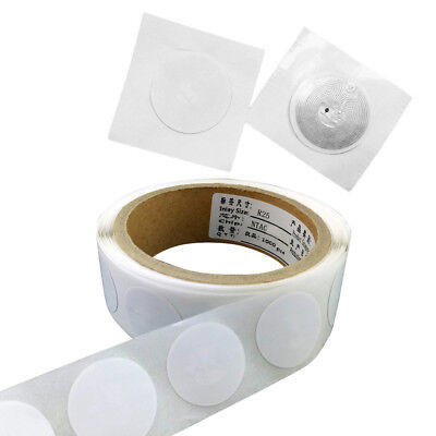 Ntag213 14443A NFC Tags Sticker Universal Lable RFID Tag ISO14443A 10Pcs