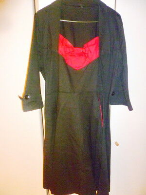 Black /Red  Dress   size 5XL 24
