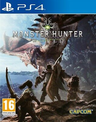 Monster Hunter World Ps4 Sec. (Leer Anuncio)