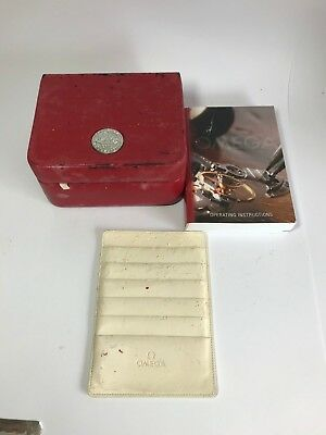 Authentic Omega watch box
