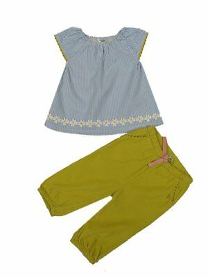 BABY GIRLS MINI BODEN set outfit top trouser  3 6 12 18 24 months 2 3 years