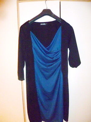 Black blue  Dress   size  5XL/22