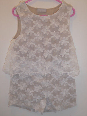 NEXT - Lovely Girls Special Occasion All In 1 Jumpsuit Playsuit Outfit 5 Years