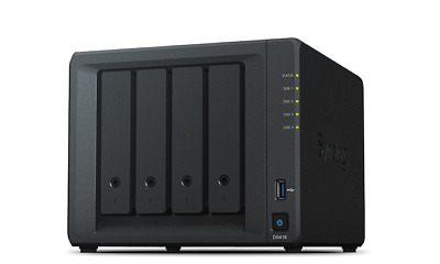 SYNOLOGY DS418 with 4 x 2Tb Iron Wolf HDD's
