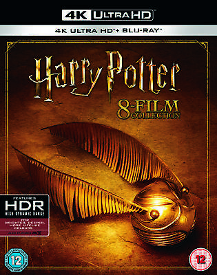 Harry Potter - Complete 8-film Collection (4K Ultra HD + Blu-ray + Digital)