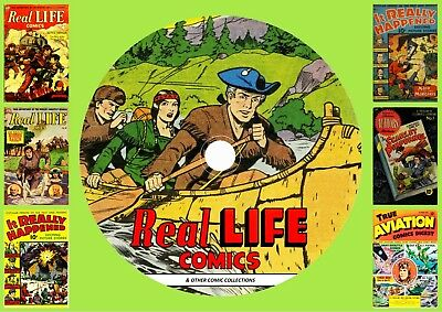 Real Life Comics & Others On DVD Rom