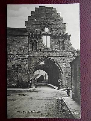 The Pend Fortified Gatehouse ARBROATH Angus *Vintage* c1910 Street Scene