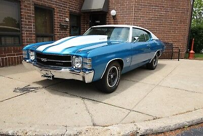 1971 Chevrolet Chevelle - 4Spd + Highly Optioned Car 1971 Chevrolet Chevelle 4spd Highly Optioned 1970 1972  SS