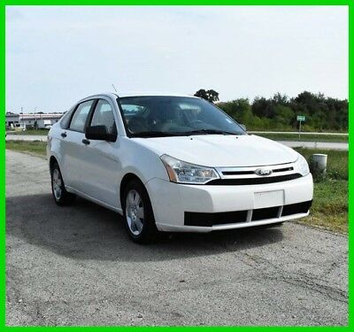 Ford Focus 4-Door 2010 4-Door Used 2L I4 16V Automatic FWD Sedan