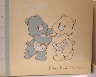 CARE BEARS -Babys Book Of Firsts  Photos & 1st Year Achievements Album Boxed NEW