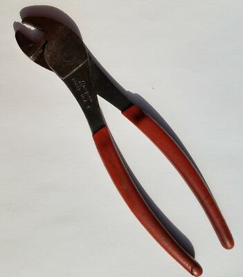 Snap-On 208CP Battery Cable Clamp Terminal Pliers Red Vinyl Grip LIFETIME