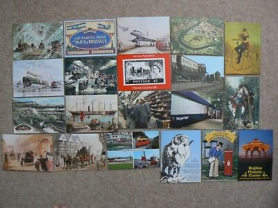 Collection Of 20 Postcards Cards -  Royal Mail Cycling Etc - A