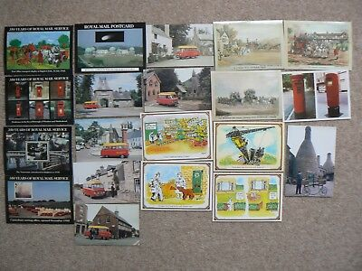 Collection Of 20 Postcards Cards -  Royal Mail  Etc - B
