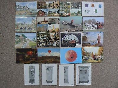 Collection Of 20 Postcards Cards -  Royal Mail  Etc - C