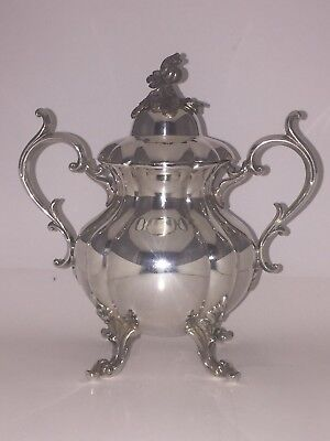 Reed and Barton Sugar Bowl with Lid Winthrop 1795 Silver Plated