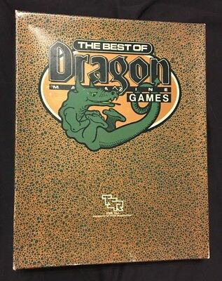 The Best of Dragon Magazine Games - TSR 1051 used