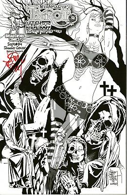 Tarot Witch of the Black Rose #94 Deluxe Signed with Litho. Jim Balent. NM
