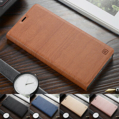 For Huawei Honor 8 9 10 Lite Luxury PU Leather Flip Wallet Card Case Cover